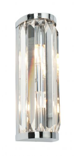 Bathroom Glass Crystal double IP44 28W 39629